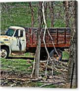 Old Truck At Rest Canvas Print