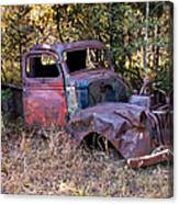 Old Truck - Purtis Creek Canvas Print