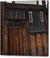 Old Tudor Doorway Canvas Print