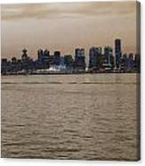 Old Vancouver Canvas Print