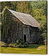 Old Vermont Barn Canvas Print