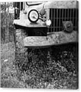 Old Vintage Dodge Work Truck Canvas Print