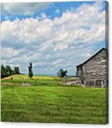 Old Virginia Barn Canvas Print
