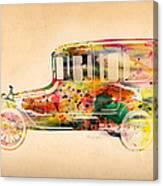 Old Volkswagen3 Canvas Print