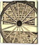 Old Wagon Wheel 1 Canvas Print
