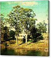 Old Water Canvas Print