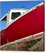 Old Weathered Boat Canvas Print