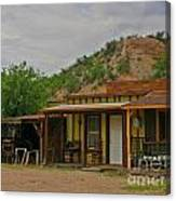 Old West Homestead Canvas Print