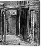 Old West            Pencil Canvas Print