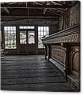 Old West Saloon Bar -- Bannack Ghost Town Montana Canvas Print