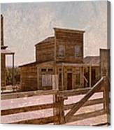 Old West Scene Canvas Print