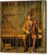 Old Western Jail Canvas Print