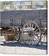 Old Western Wagon Canvas Print