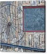 Old Wheel Canvas Print