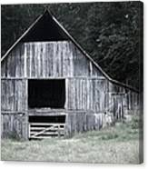 Old Wooden Barn Canvas Print