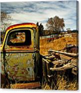 Old Workhorse Canvas Print