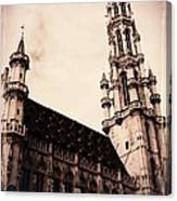 Old World Grand Place Canvas Print