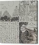 Old World New World Canvas Print