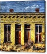 Old Yellow House In Buena Vista Canvas Print