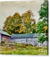 Olde Homestead On Rt 105 Canvas Print