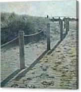 Olde Worlde Beach Canvas Print