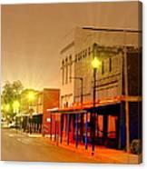 Olden Days Of Beebe Arkansas Canvas Print