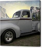 Older Classic Truck Canvas Print