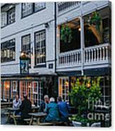 Oldest Coaching Inn In London Canvas Print