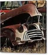 Oldsmobile 40s Canvas Print