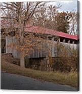 Oldtown Covered Bridge Canvas Print