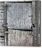 Ole Barn Door Canvas Print