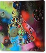Olej I Woda 4 Canvas Print
