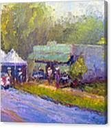 Olive Market Festival Canvas Print