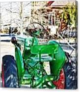 Oliver 60 Tractor In Dell Canvas Print