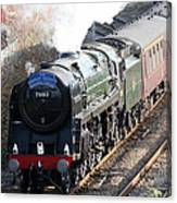 Oliver Cromwell Arrives In Lincoln Canvas Print