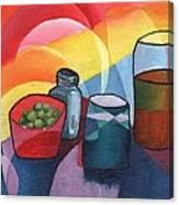 Olives Salt N Beer Canvas Print
