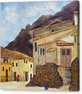 Ollantaytambo Canvas Print