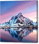 Olstind Lofoten Islands Norway Canvas Print
