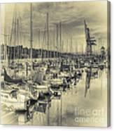 Olympia Marina 3 Canvas Print