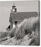 Olympic Light House No 1 Canvas Print