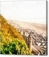 Olympic Peninsula Driftwood Canvas Print