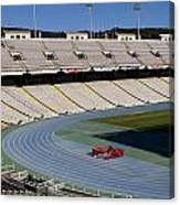 Olympic Stadium Barcelona Canvas Print
