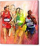 Olympics 10000m Run 01 Canvas Print