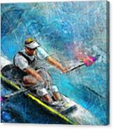 Olympics Rowing 01 Canvas Print