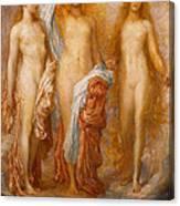 Olympus On Ida Canvas Print