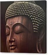 Om Mani Padme Hum  - Buddha Canvas Print