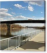 Omaha The Riverfront Canvas Print