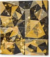 Omg Modern Triangles II Canvas Print