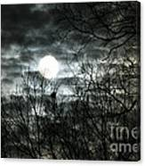 Ominous Sun Canvas Print
