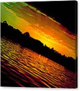 Ominous Sunset Canvas Print